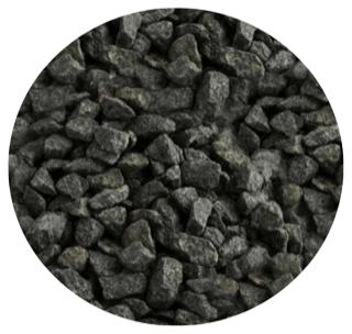 Granitskærver sort